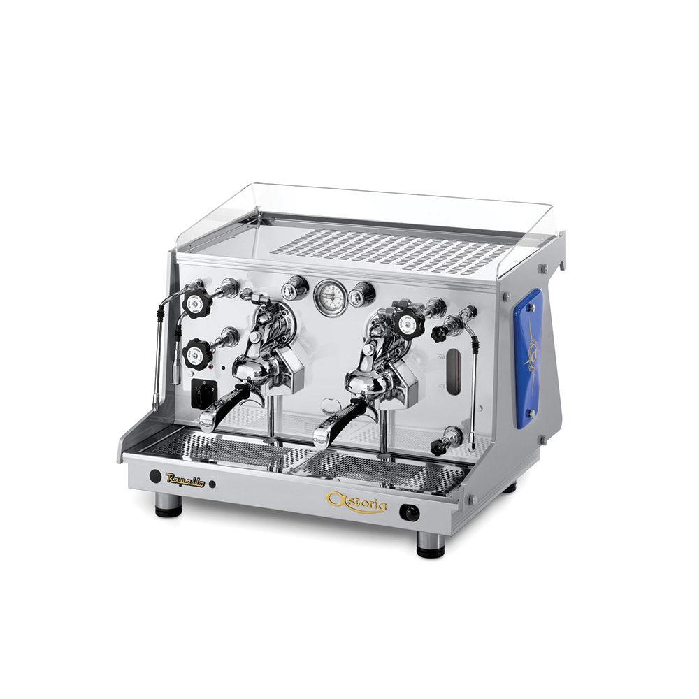 Rapallo Astoria ⋆ O mașină de cafea tradițională, cu un design retro. Linia sa unică și unitățile vizibile fac din Rapallo un espressor special de rafinat.